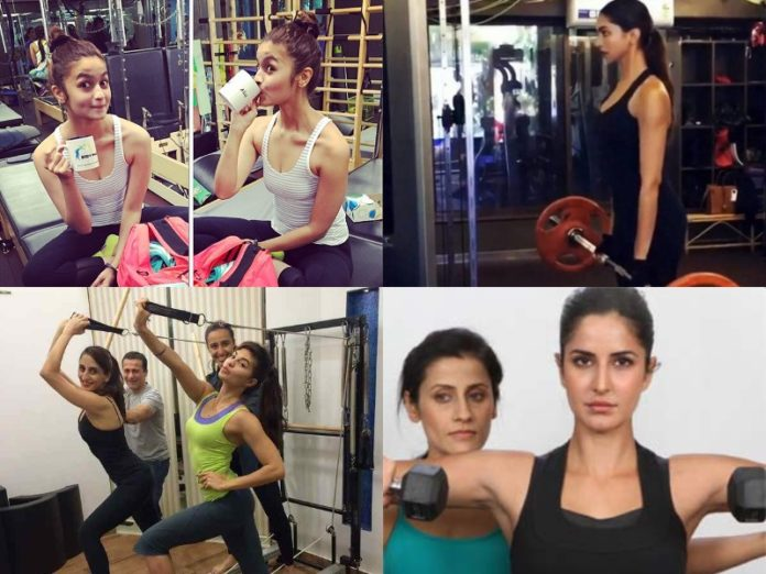 Fitness Routine of Bollywood Actresses