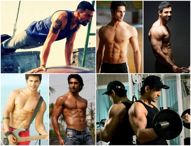 Get that Hot Bod: Fitness Tips from Akshay Kumar, John Abraham, Varun Dhawan and Ranveer Singh