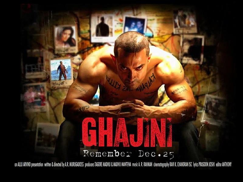Top 10 Bollywood Movies based on South Indian Movies- Ghajini