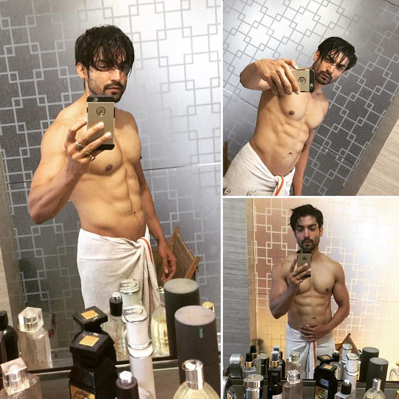 15 Hot Pics of Gurmeet Choudhary that are enough to set fire on your screens- Gurmeet Selfie 5