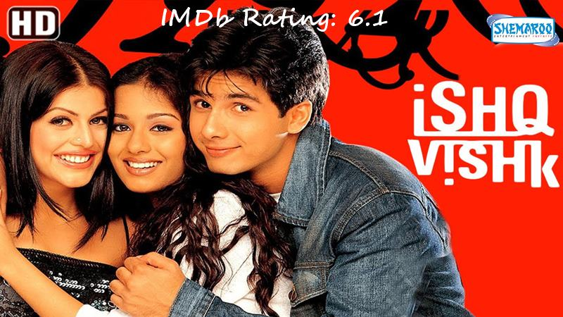 Top 10 Shahid Kapoor Movies Based on IMDb Ratings- Ishq Vishk