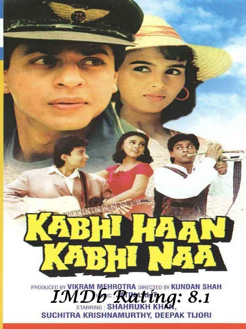10 Best Shah Rukh Khan Movies Based on IMDb Ratings- KHKN
