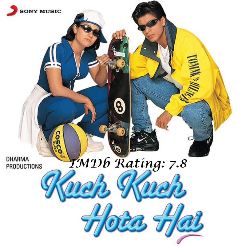 10 Best Shah Rukh Khan Movies Based on IMDb Ratings- KKHH