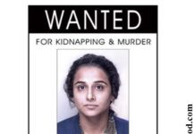 WOAH! Vidya Balan is a wanted fugitive in the First Look of Kahaani 2