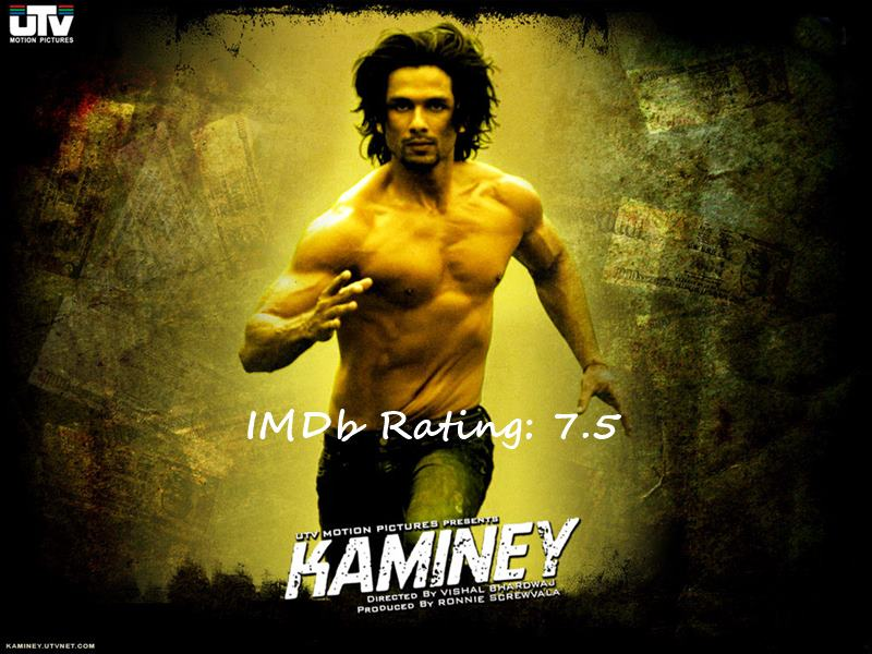 Top 10 Shahid Kapoor Movies Based on IMDb Ratings-Kaminey