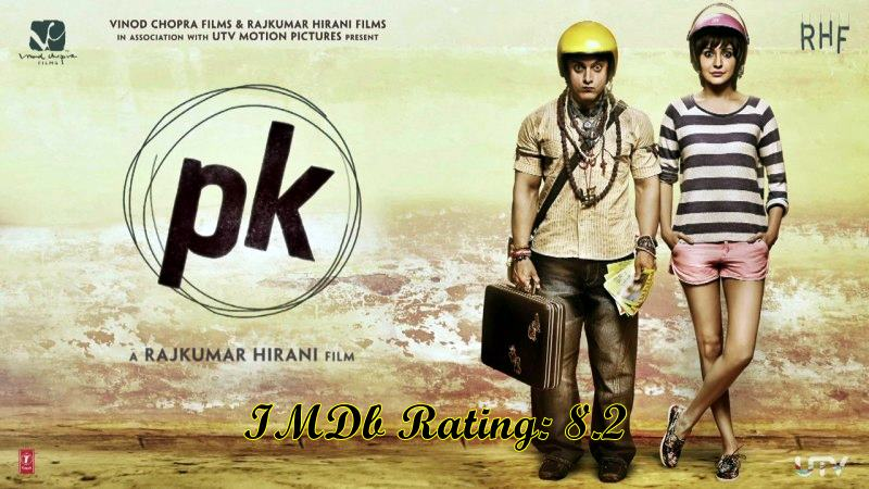 5 Best Anushka Sharma Movies based on IMDb Ratings- PK