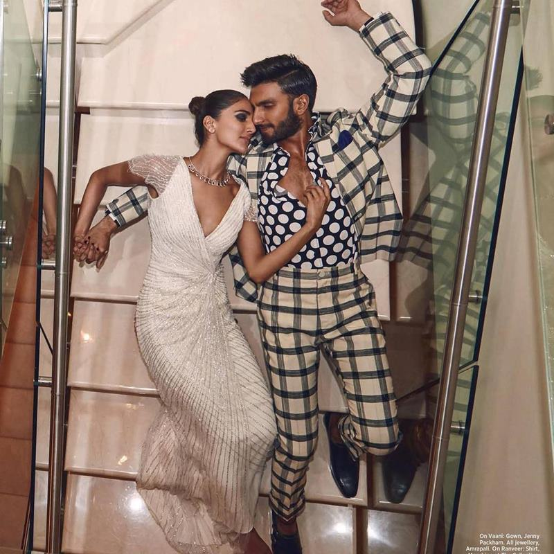 Hot Hot Hot! Ranveer Singh and Vaani Kapoor on Harper Bazaar Bride Cover are way too hot!- Ranveer Vaani 1