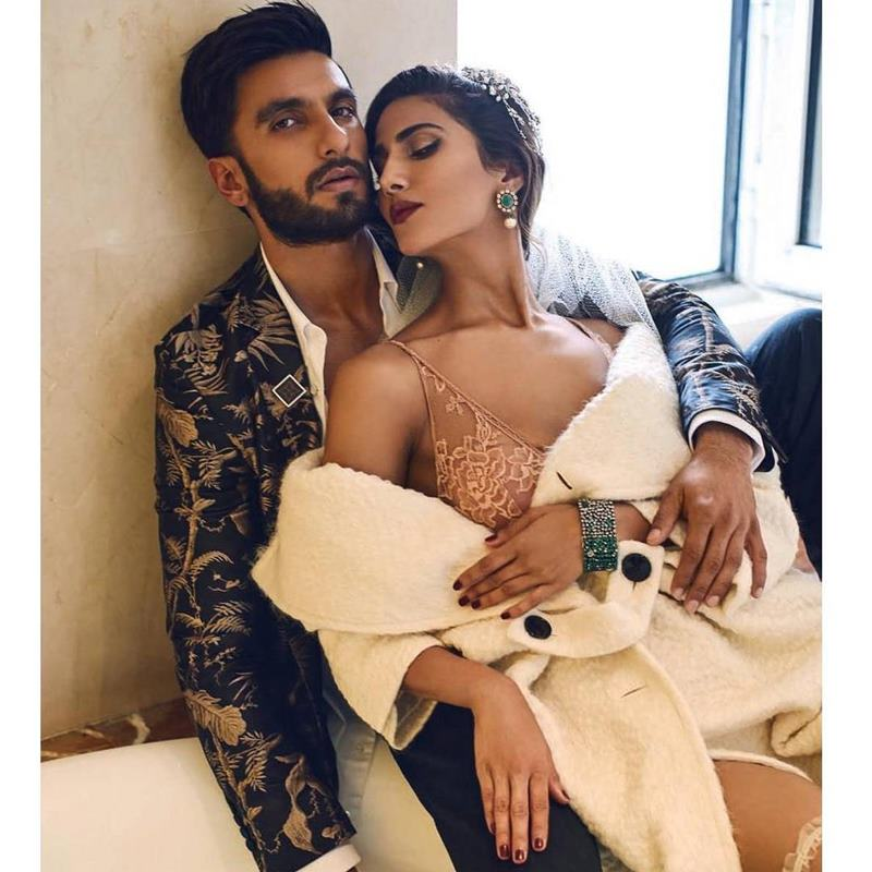 Hot Hot Hot! Ranveer Singh and Vaani Kapoor on Harper Bazaar Bride Cover are way too hot!- Ranveer Vaani 4