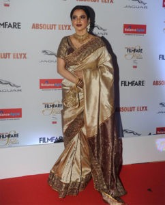 Rekha at Filmfare Glamour and Style Awards