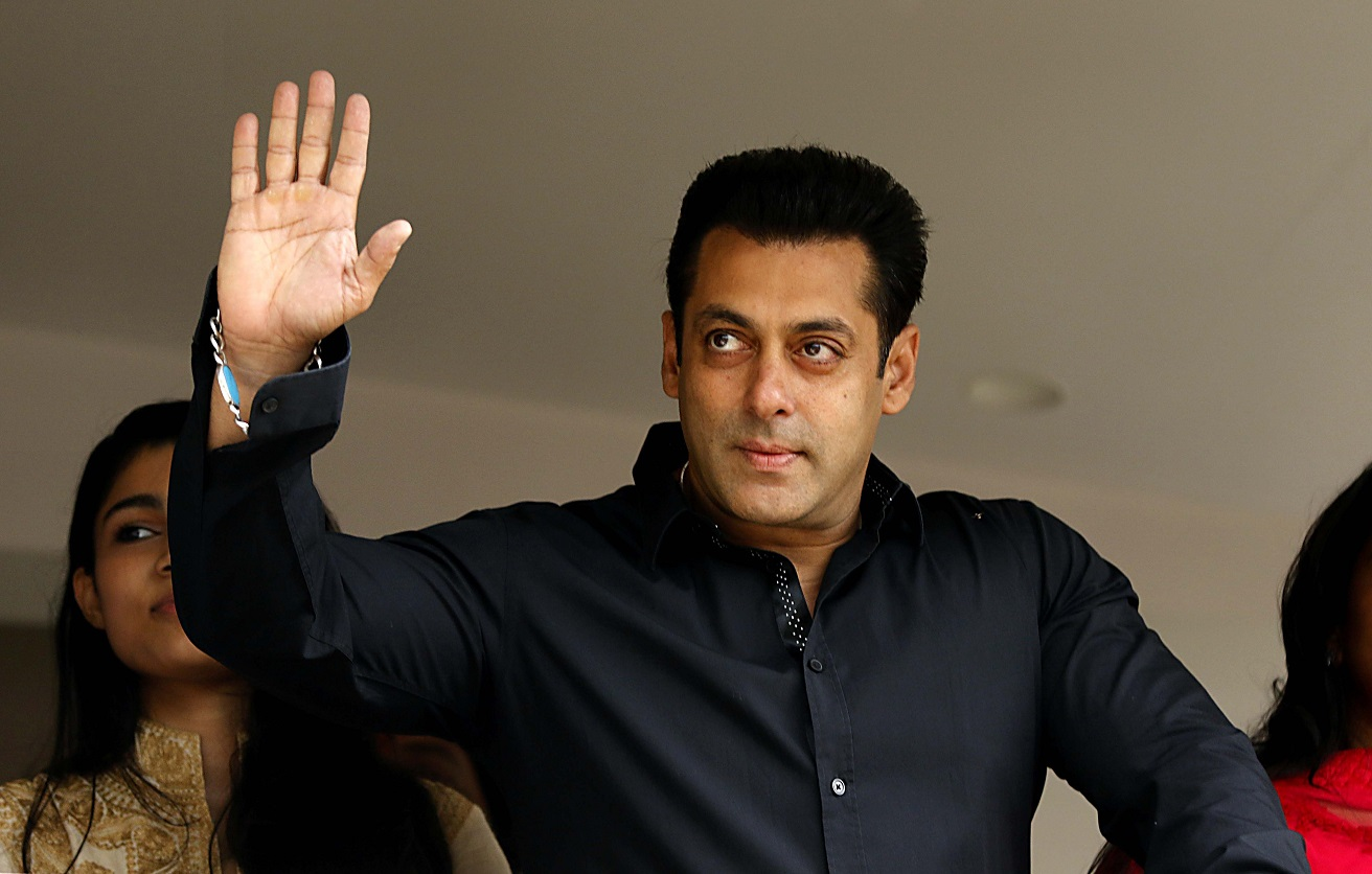 Salman Khan launches Being Human Jewellery with sister Arpita and nephew Ahil