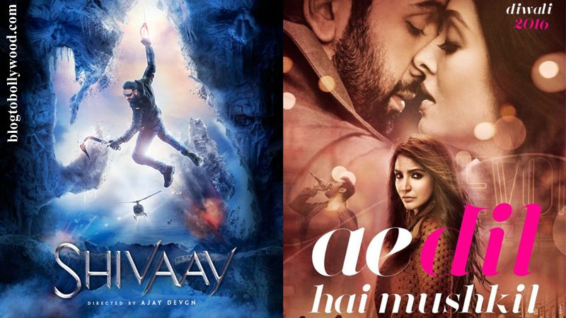 Ae Dil Hai Mushkil, Shivaay Third Day Collection: 3rd Day Box Office Collection, Occupancy Report