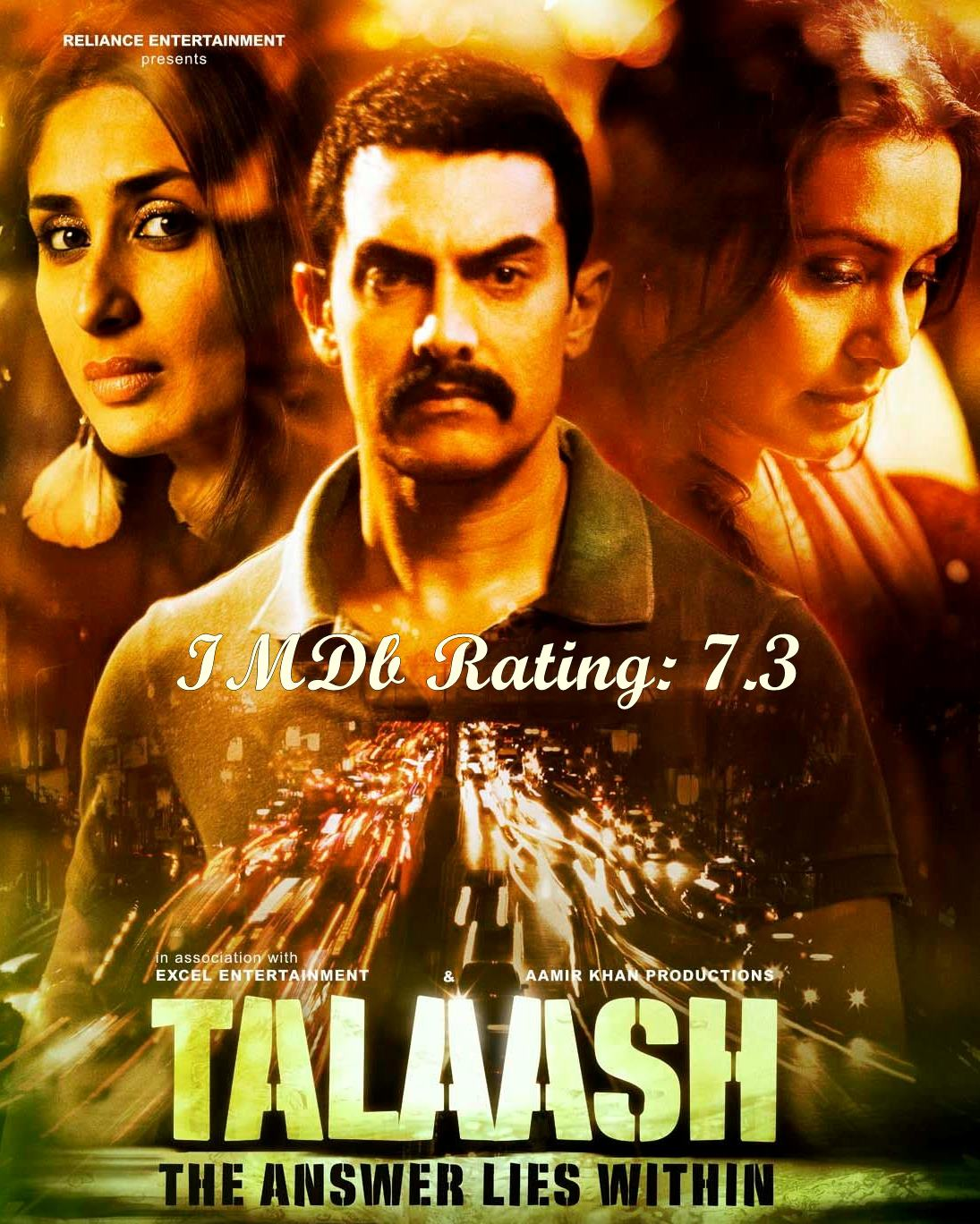 Top 10 Kareena Kapoor Khan Movies based on IMDb Ratings- Talaash