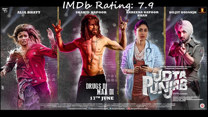 Top 10 Shahid Kapoor Movies Based on IMDb Ratings-Udta Punjab