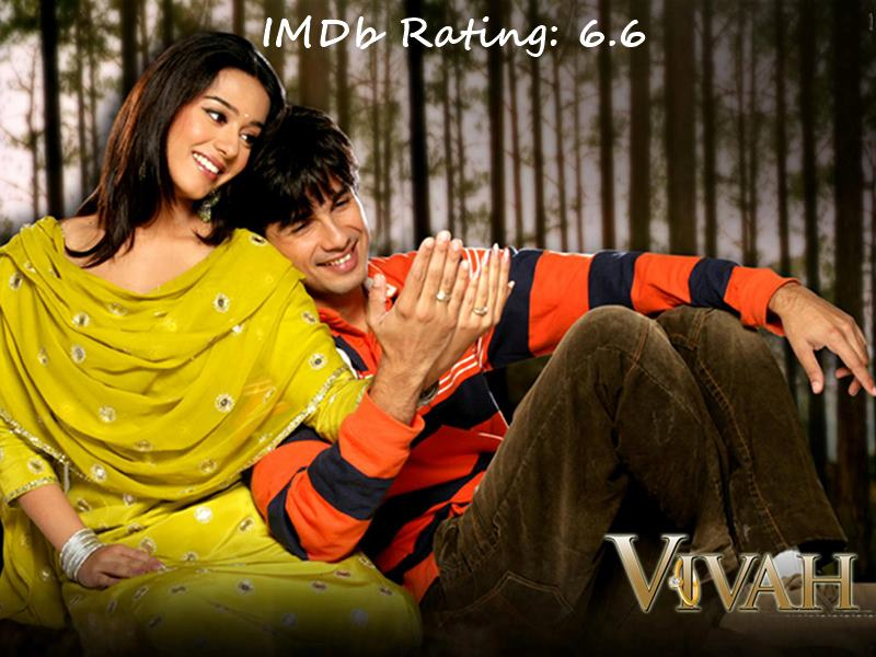Top 10 Shahid Kapoor Movies Based on IMDb Ratings-Vivah
