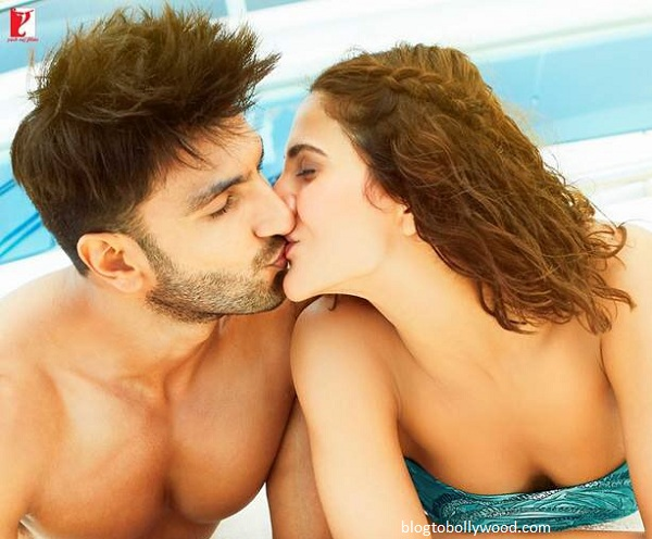 Ranveer Singh and Vaani Kapoor lock lips in 'Befikre'
