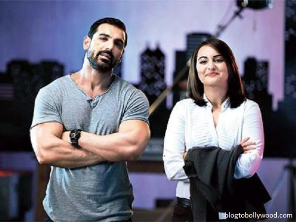 John and Sonakshi in 'Force 2'