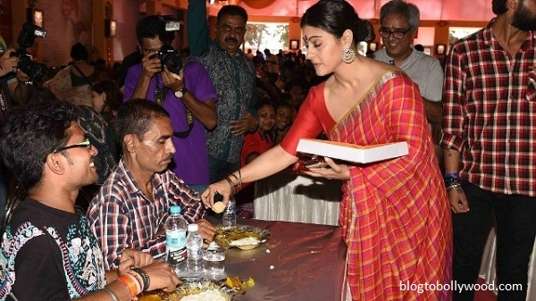Pics:Bollywood celebrates Durga Pooja - Kajol