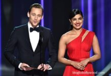 Tom Hiddleston and Priyanka Chopra met at the Emmy's award last month