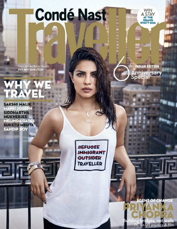 Priyanka Chopra slammed for wearing a T-shirt with insensitive message about refugees
