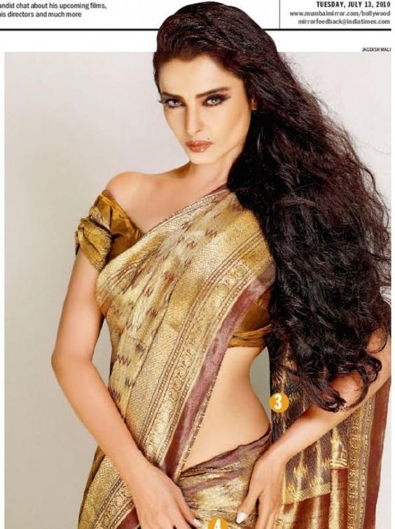 Happy 62nd Birthday Rekha - Rekha 9