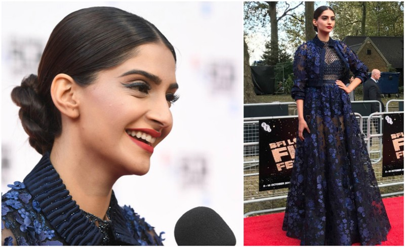 Sonam Kapoor Looks Ravishing at Mirzya's London Premiere
