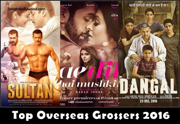 Bollywood Box Office: Top 10 Highest Overseas Grossers Of 2016