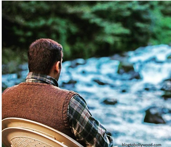 Salman Khan on the sets of 'Tueblight' in Manali