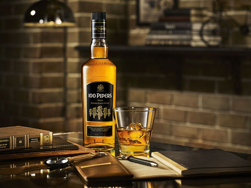Hear The 100 Pipers Playing After A Sip With Seagram's 100 Pipers And #BeRememberedforGood