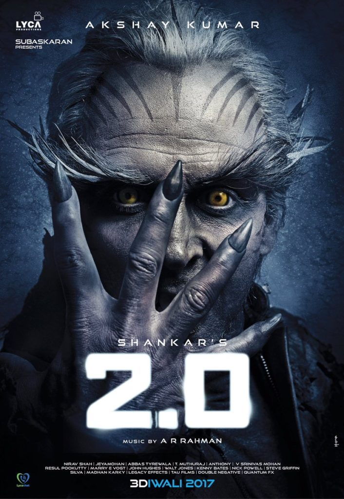 2.0 first look - Akshay Kumar