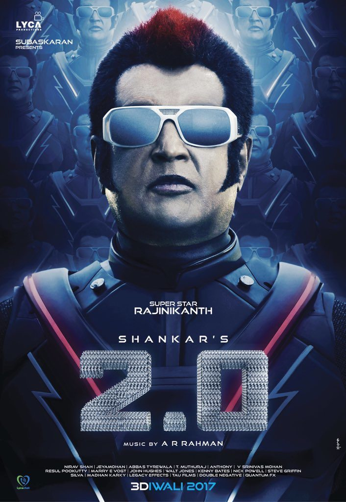 2.0 first look - Rajinikanth