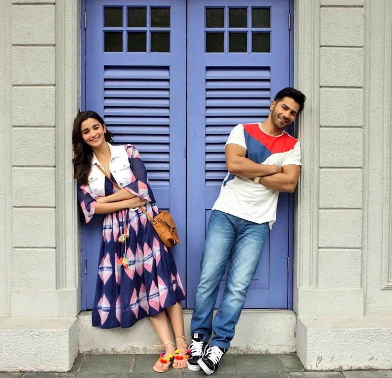 Varun and Alia in Badrinath Ki Dulhania