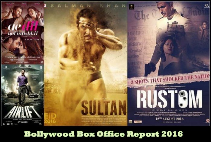 Bollywood box office report 2016 box office collection - Bollywood movie box office collection ...