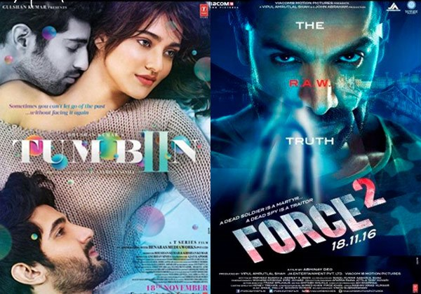 Tum Bin 2, Force 2 Opening Day Collection Reports: Occupancy & Estimated First Day Earnings