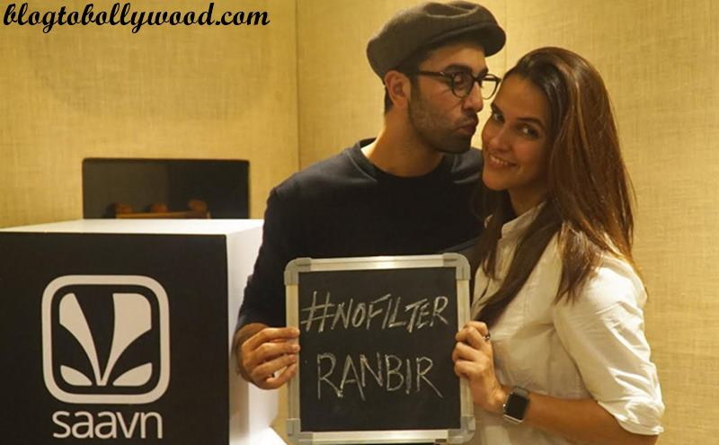 Ranbir Kapoor confesses that he is on Instagram in a talk show!