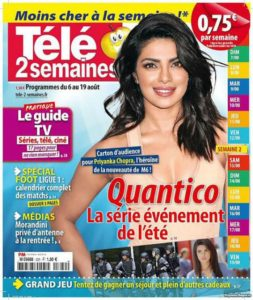 Priyanka Chopra on International Magazine Covers:: French