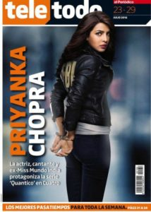 Priyanka Chopra on International Magazine Covers:: Spanish