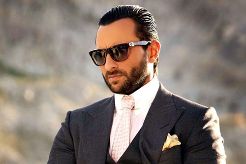 Saif Ali Khan bearded look