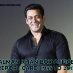 Salman Khan Box Office Report Card - 1998 to 2017