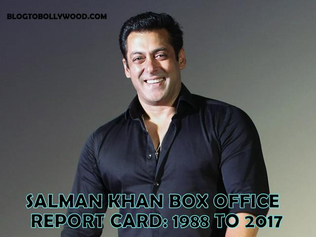 Salman Khan Box Office Report Card 1988 to 2017: List Of Hit, Flop & Blockbuster Movies Of Salman Khan