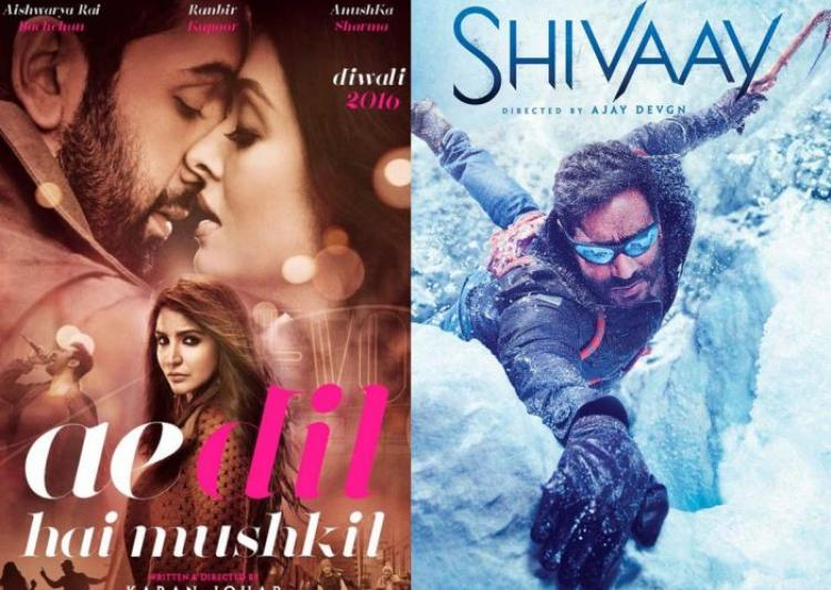 Ae Dil Hai Mushkil, Shivaay 10th Day Collection: Karan Johar's Film Is Ahead By 10 Crores