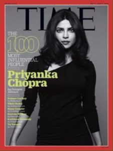 Priyanka Chopra on International Magazine Covers:: Time