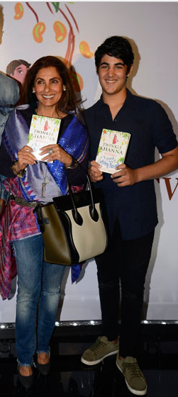 Dimple Kapadia and Aarav Kumar