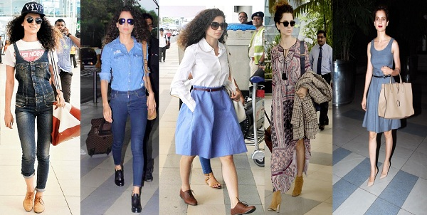 Shop Online These 5 Airport Looks of Kangana Ranaut