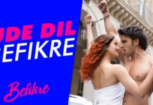 Watch: Ranveer and Vaani go crazy in 'Ude Dil Befikre' song