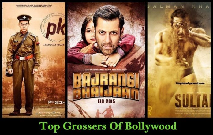 List of Top Grossers of Bollywood | Highest Grossing Bollywood Movies Of All Time