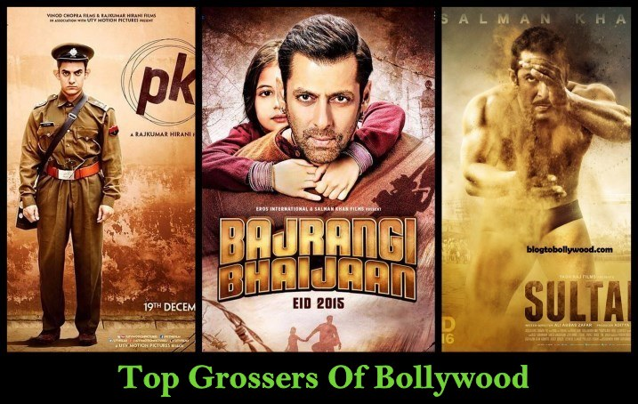 Highest Grossing Bollywood Movies Of All Time | Top Grossers of Bollywood