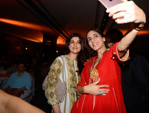 Twinkle Khanna and Farah Khan Ali
