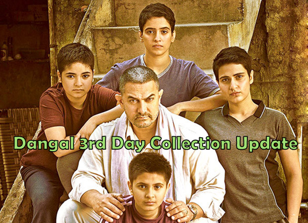Official Dangal 3rd Day Collection: 3rd Highest Opening Weekend Of All Time