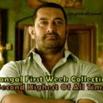 Dangal 7th Day Collection: 1st Week Box Office Collection Report