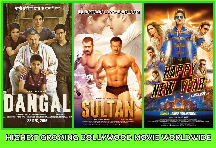 Top 10 Highest Grossing Bollywood Movies Worldwide | Bollywood's Top Worldwide Grossers